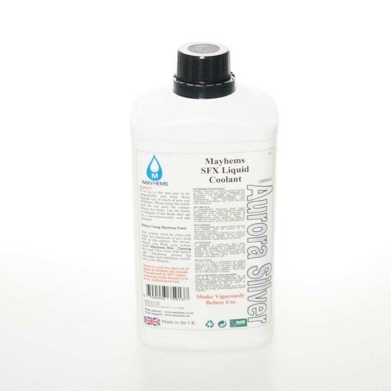 Liquide watercooling Mayhems Aurora Silver Premix 1 litre