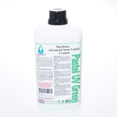 Liquide watercooling Mayhems Pastel UV Green Premix 1L
