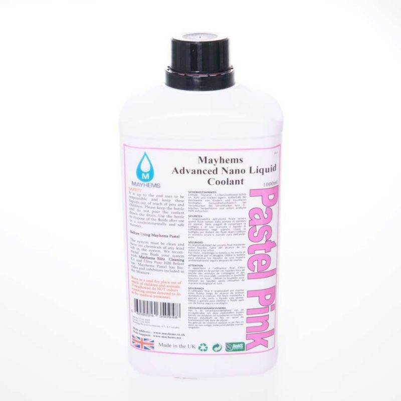 Liquide watercooling Mayhems Pastel Pink Premix 1L