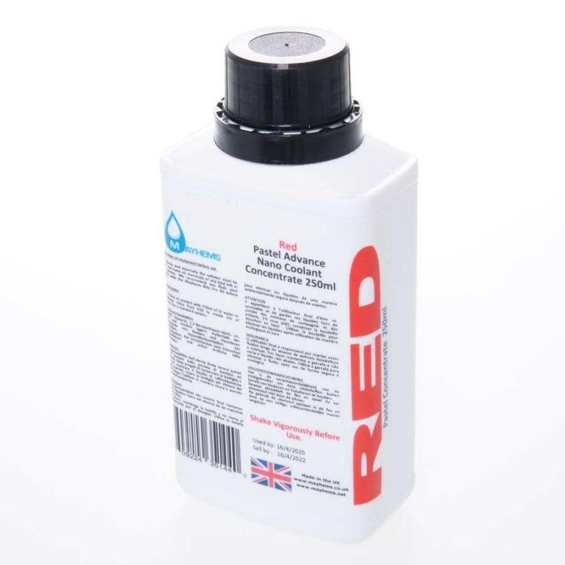 Liquide watercooling Mayhems Pastel rouge concentré - 250ml