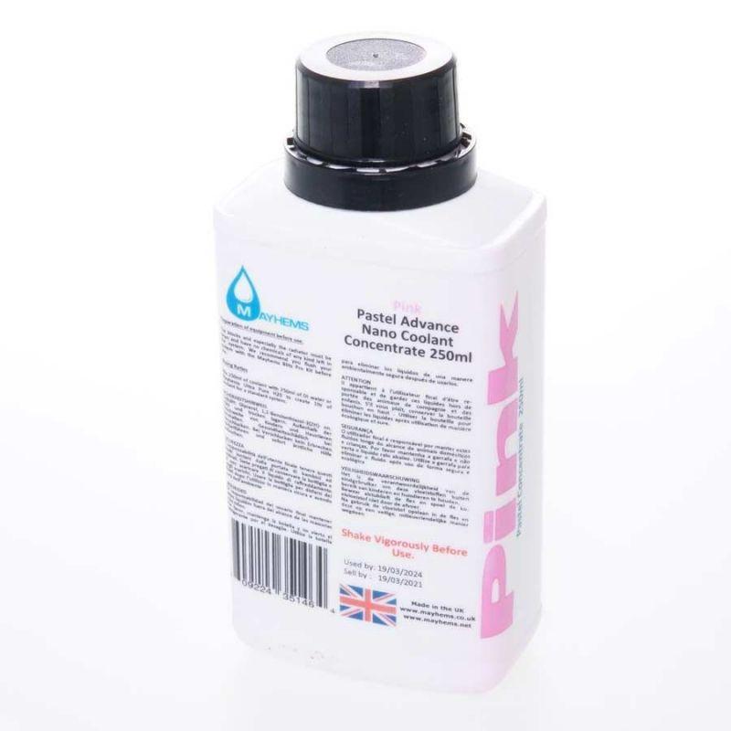 Liquide watercooling Mayhems Pastel rose concentré - 250ml