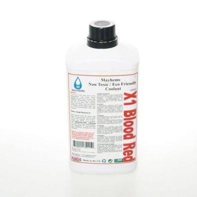 Liquide watercooling Mayhems X1 rouge sang Premix 1L