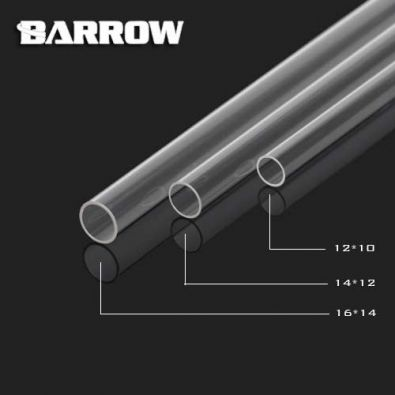 Barrow YK14-12 - tube rigide acrylique 12x14mm