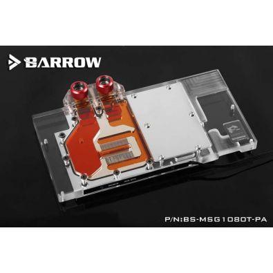 Barrow BS-MSG1080T-PA - waterblock GPU MSI GTX 1080 Ti GAMING X