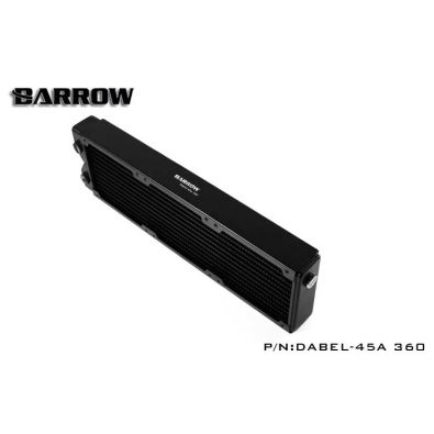 Barrow Dabel-45a 360 : radiateur watercooling 360mm (45mm)