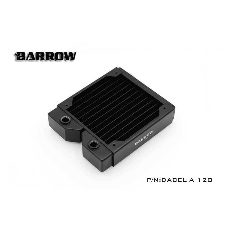 Barrow Dabel-a 120 : radiateur watercooling 120mm (34mm)