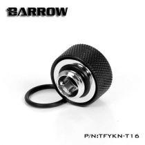 Barrow TFYKN-T16 - embout droit pour tube rigide 16mm (black)