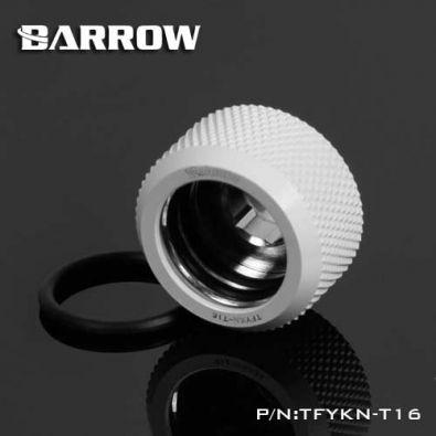Barrow TFYKN-T16 - embout droit pour tube rigide 16mm (white)