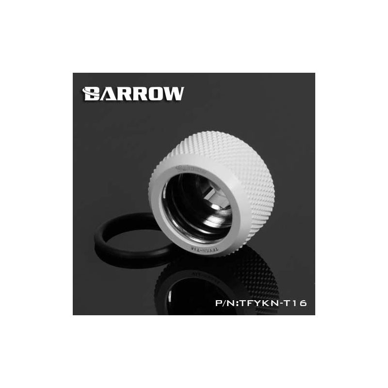 Barrow TFYKN-T16 - embout droit pour tube rigide 16mm (white)