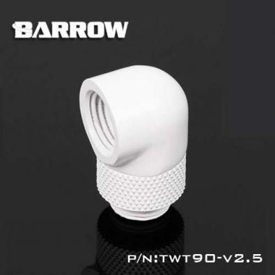 Embout Barrow TWT90-v2.5 - embout rotatif 90° couleur blanc