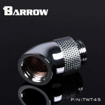 Embout Barrow TWT45-B01 - embout rotatif 45° M/F argent