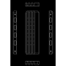 Hybrid Cooling Modding HCM PRO EVO.Z dissipateur thermique pour SSD M.2